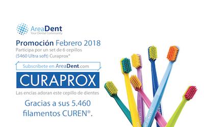 Curaprox 5460® – Promoción Feb 2018 cortesía de AreaDent®