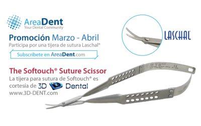 Tijera Softouch Laschal®  – Promoción Marzo 2018 cortesía de 3D-Dental®