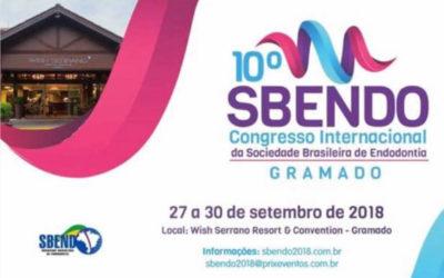 BRASIL: 10º Congreso Internacional de la Sociedad Brasileña de Endodoncia SBENDO