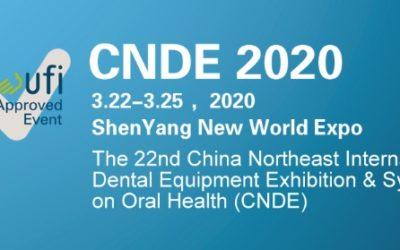 CNDE 2020 – 22nd China NorthEast International Dental Equipment Exhibition & Symposium on Oral Health