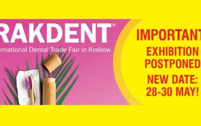Krakdent 2020 – The 28th International Dental Trade Fair in Krakow