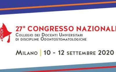 27th National Congress – Congress of University Professors of Dental Discipline