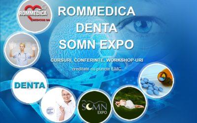 Denta 2020 – ROMMEDICA 2020 – SOMN EXPO 2020 – 40th Edition – Fall Edition
